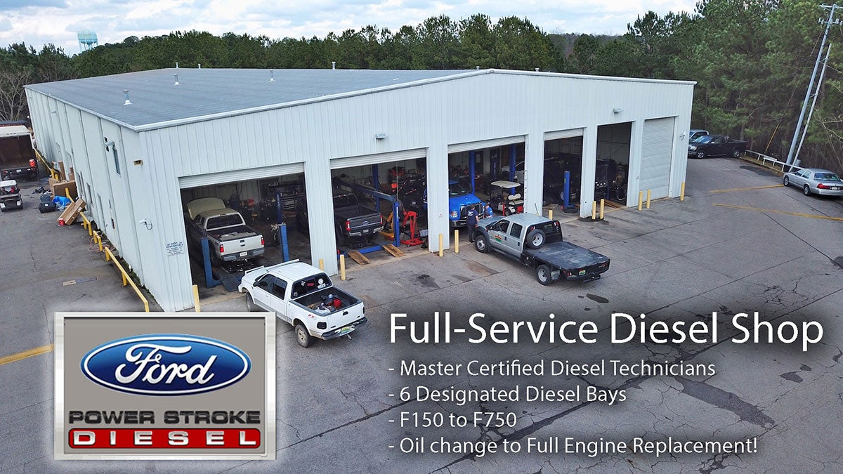 Ford Repair Shop >> Diesel Repair Shop In Bessemer Alabama